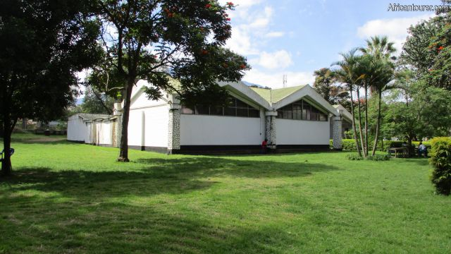 The Arusha declaration museum, a view from the museum gardens