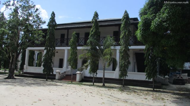 Catholic museum of Bagamoyo, view from the rear (west)