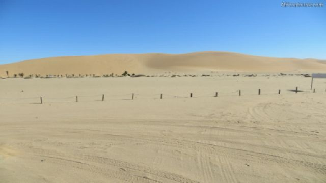 Dune 7 of Dorob National Park, in the distance <sup>1</sup>
