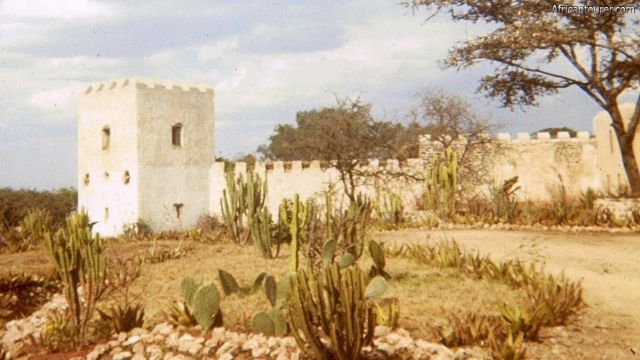 Fort Ikoma of Mara region, a partial view from the outside. Photo by Robb Coady