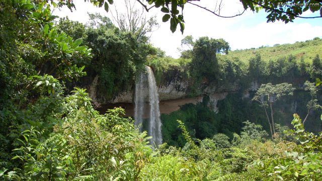 Kapologwe falls Mbeya, from a distance on the hiking path to it [1]