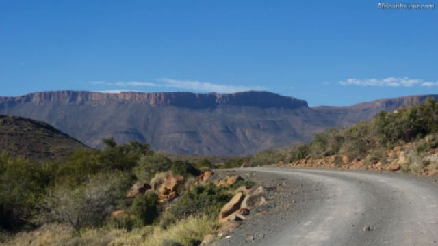 Karoo national park, the great escarpment in the distance<sup>1</sup>