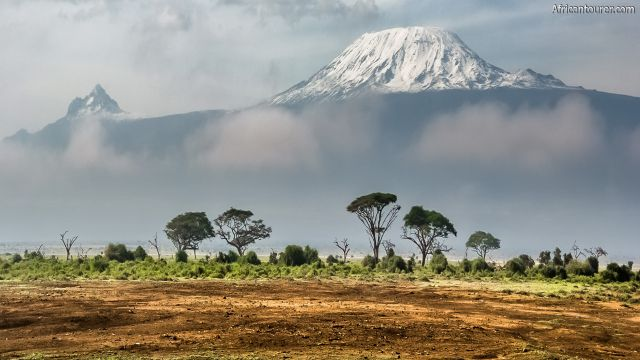 Kilimanjaro national park, a view from Amboseli national park in Kenya [2]