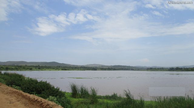 Kyarano dam of Butiama, as seen from the road to Butiama