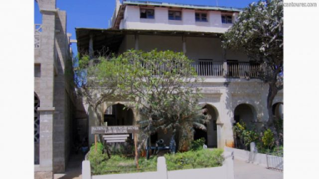 Lamu museum, a view from the front <sup>1</sup>