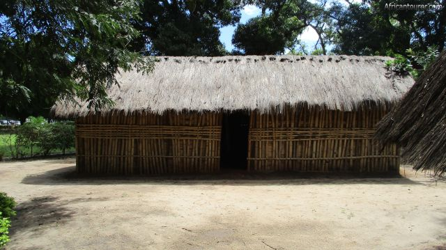 Makumbusho village museum, one of the nyakyusa houses (junior wife)