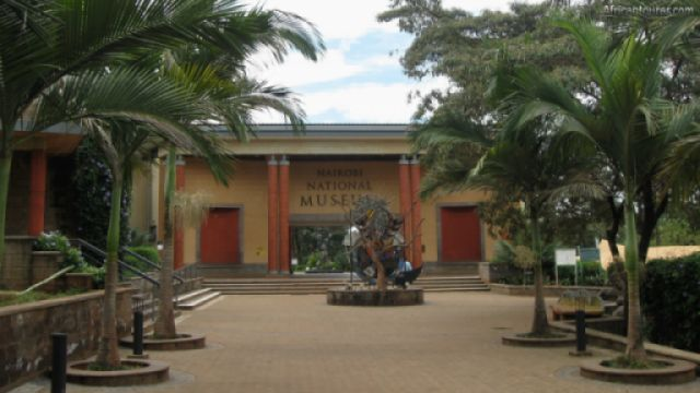 Nairobi national museum, one of the buildings near the entrance<sup>1</sup>