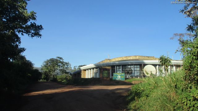 NCAA headquarters inside the Ngorongoro conservation area.