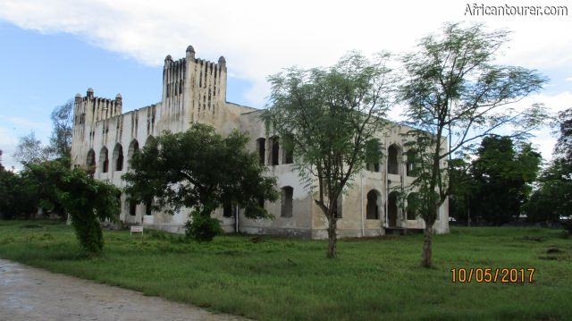 The Old Boma of Bagamoyo, view from the north east
