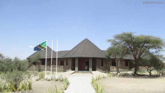 Olduvai gorge museum Ngorongoro, the main building