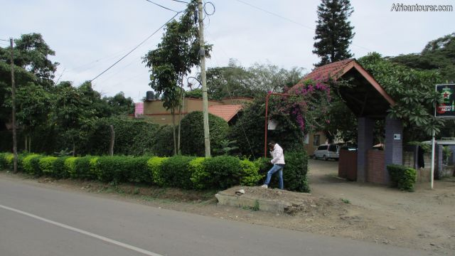 olduvai inn, a view from the side of old Moshi rd.