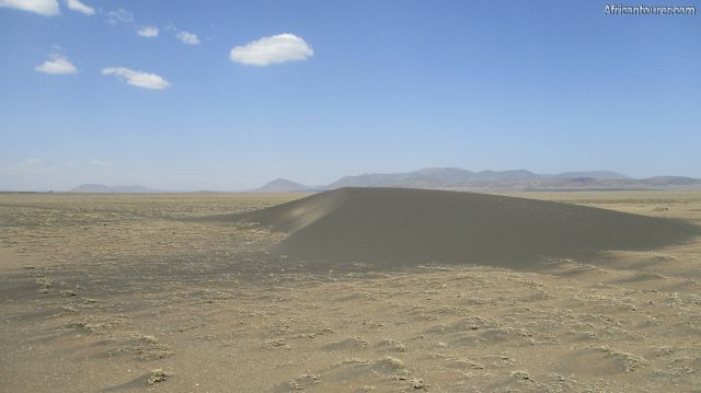 Shifting sands 2 of Ngorongoro conservation area, as seen from up close (south)